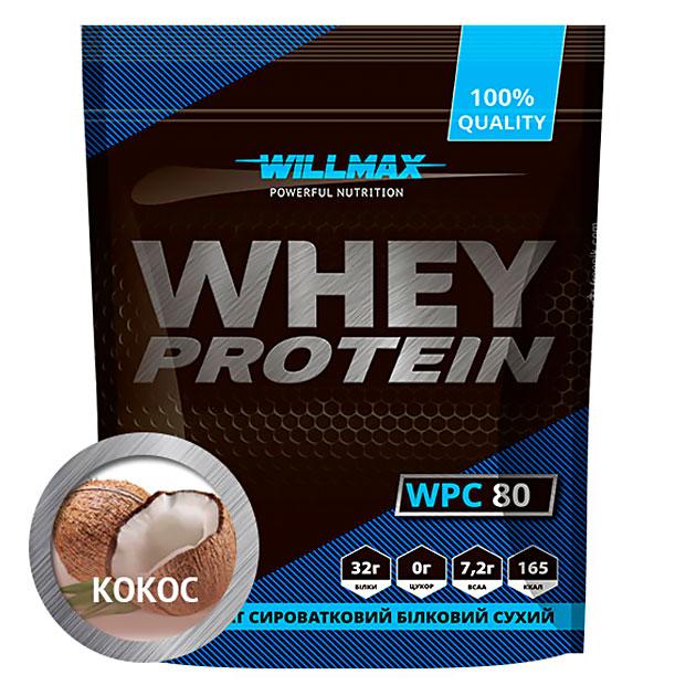 Протеин Willmax Whey Protein 80 920 г Кокос