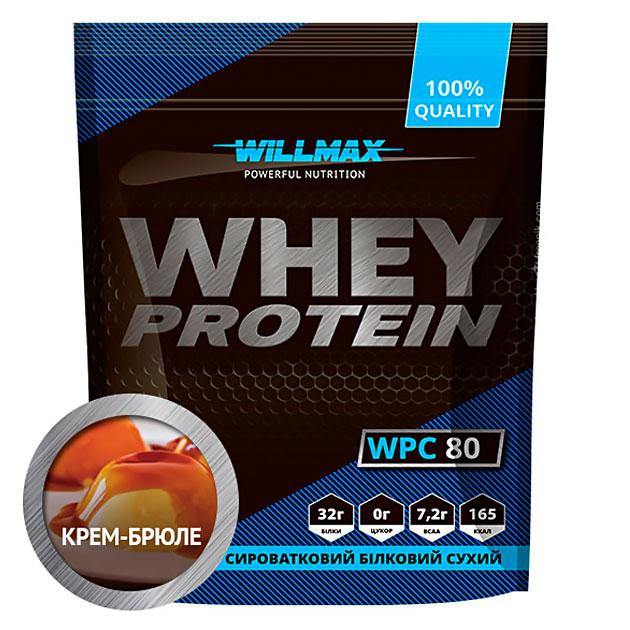 Протеин Willmax Whey Protein 80 920 г Крем брюле