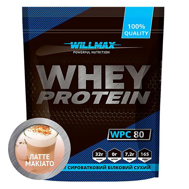 Протеин Willmax Whey Protein 80 920 г Латте - Макиато