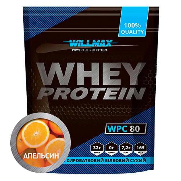 Протеин Willmax Whey Protein 80 920 г Апельсин