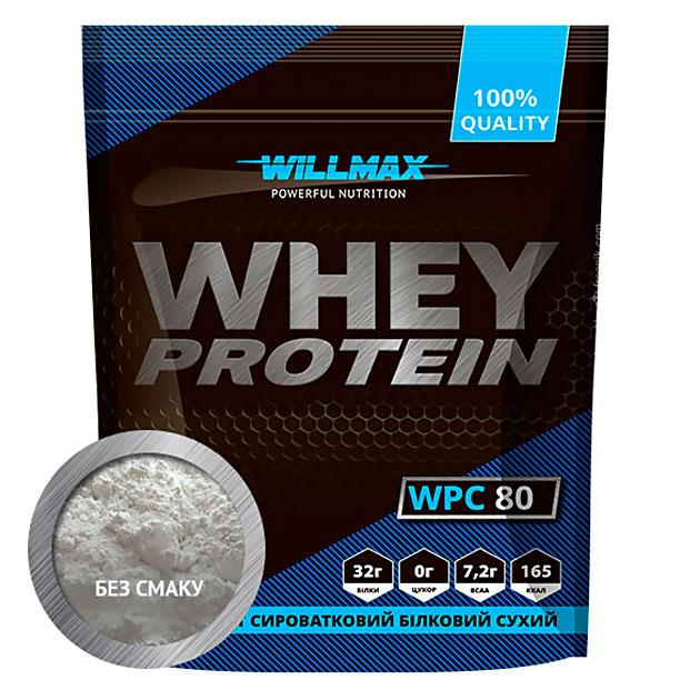 Протеин Willmax Whey Protein 80 920 г Натуральный